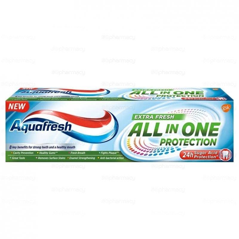 Aquafresh All In One Extra Fresh Паста за зъби 75 мл