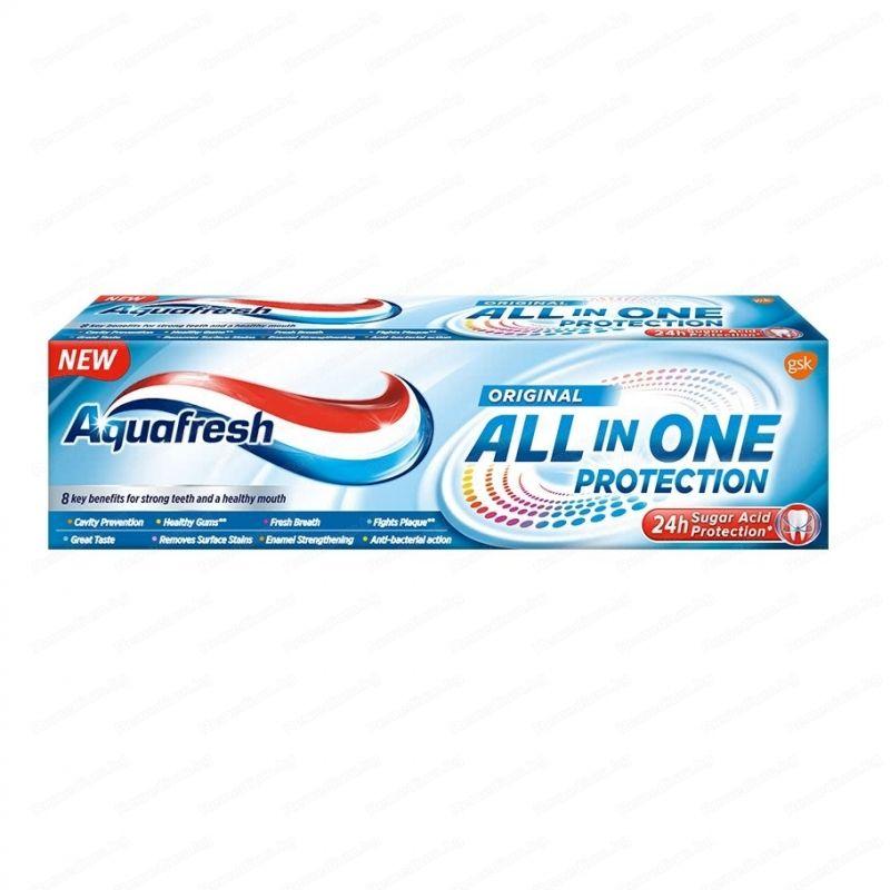 Aquafresh All in One Protection Original паста за зъби 75 мл