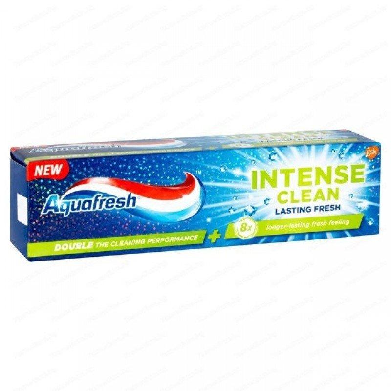Aquafresh Intense Clean Lasting Fresh Паста за зъби за трайна свежест 75 мл