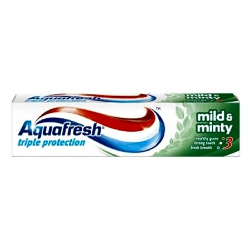 Aquafresh Triple Protection Mild & Minty Паста за зъби с тройна защита