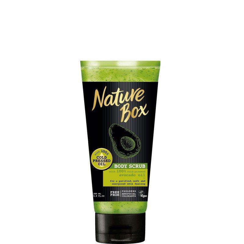 Nature Box Avocado Изглаждащ скраб за тяло с авокадо 200 мл
