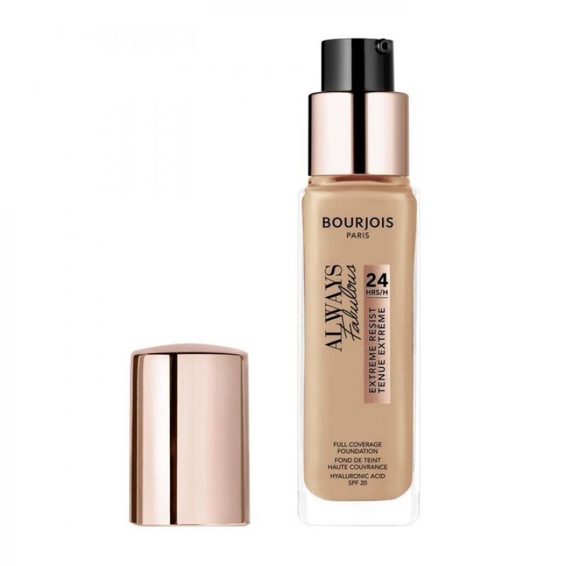 Bourjois Always Fabulous 24Hrs Full Coverage Foundation - SPF 20 - Дълготраен фон дьо тен с високо покритие