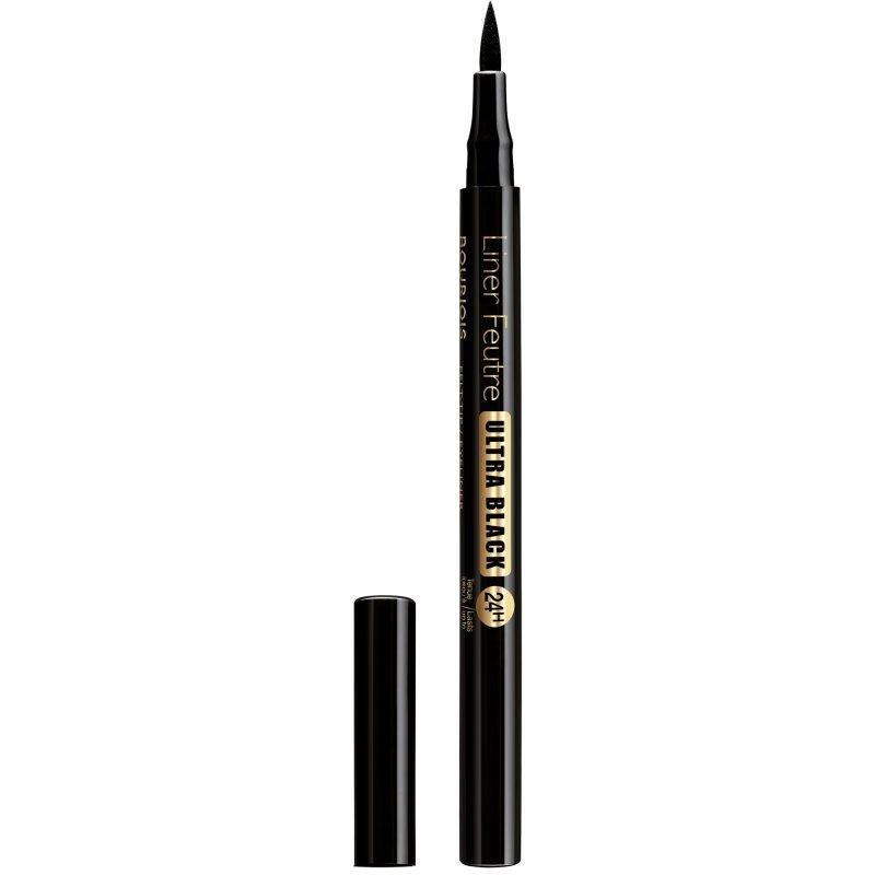 Bourjois Liner Feutre Ultra Black 24H Felt-tip Eyeliner - Прецизна очна линия 41 Ultra Black