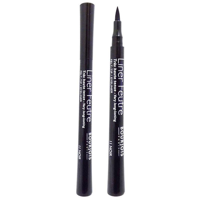 Bourjois Liner Feutre Felt-tip Eyeliner - Дълготрайна очна линия за прецизно очертаване №11 Noir