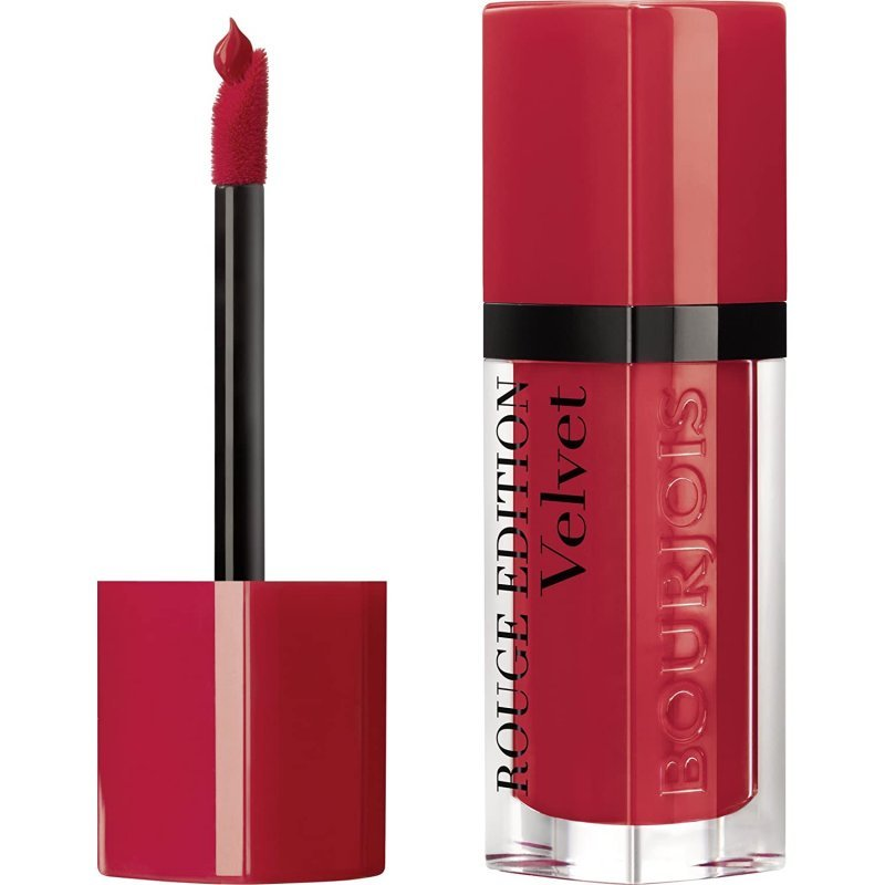Bourjois Rouge Edition Velvet Lipstick - Дълготрайно матиращо течно червило