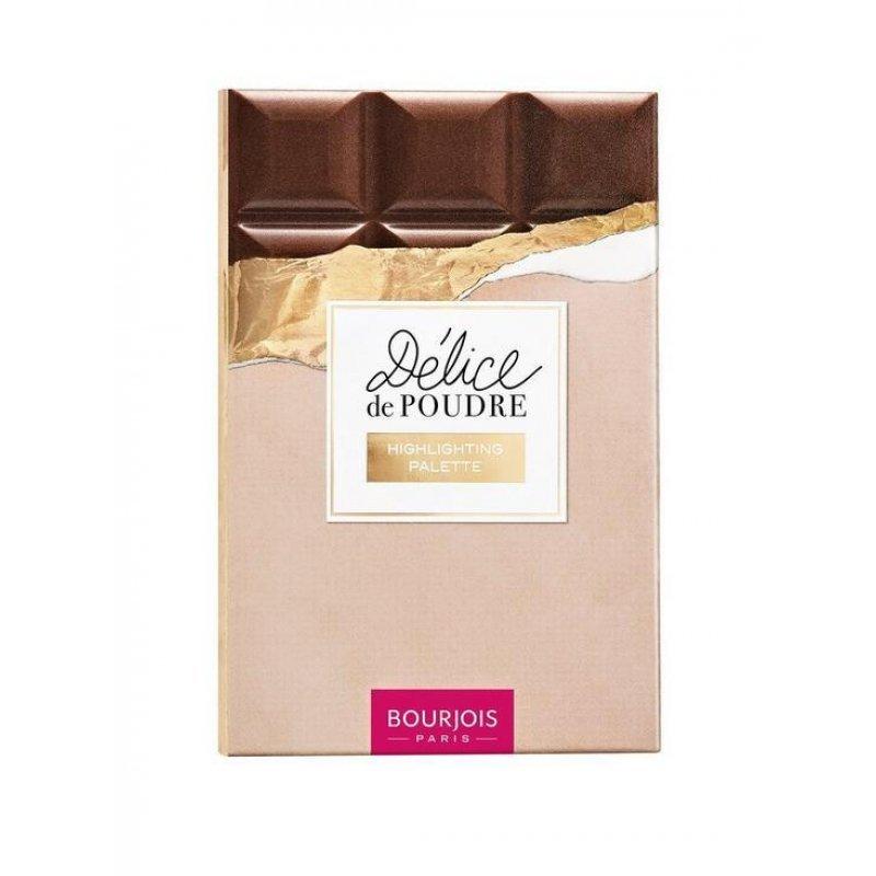 Bourjois Delice de Poudre Highlighting Palette - Палитра за контуриране на лицето