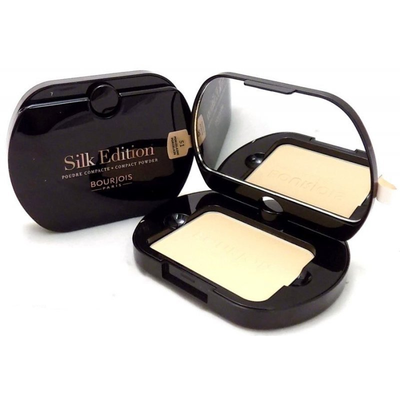 Bourjois Silk Edition Compact Powder - Дълготрайна компактна пудра за лице с матиращ ефект