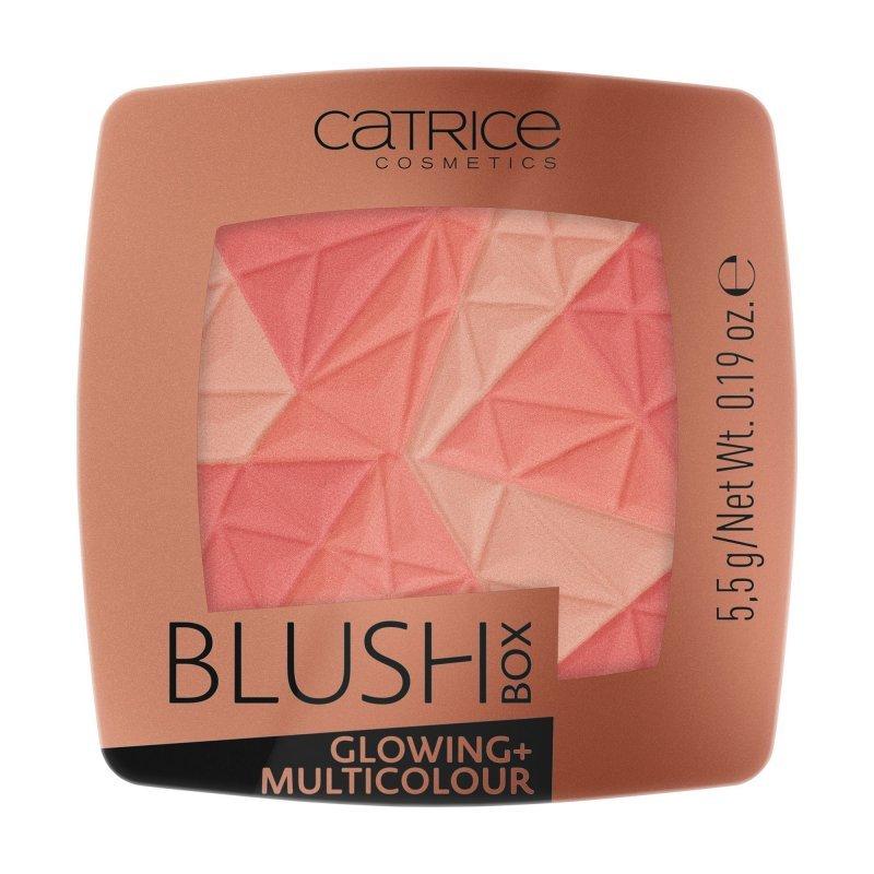 Catrice Blush Box Glowing + Multicolour - Многоцветен руж с блясък