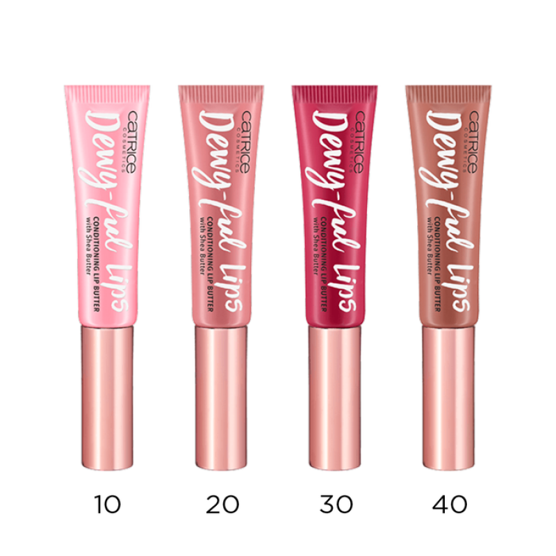Catrice Dewy-ful Lips Conditioning Lip Butter - Гланц за устни с масло от ший