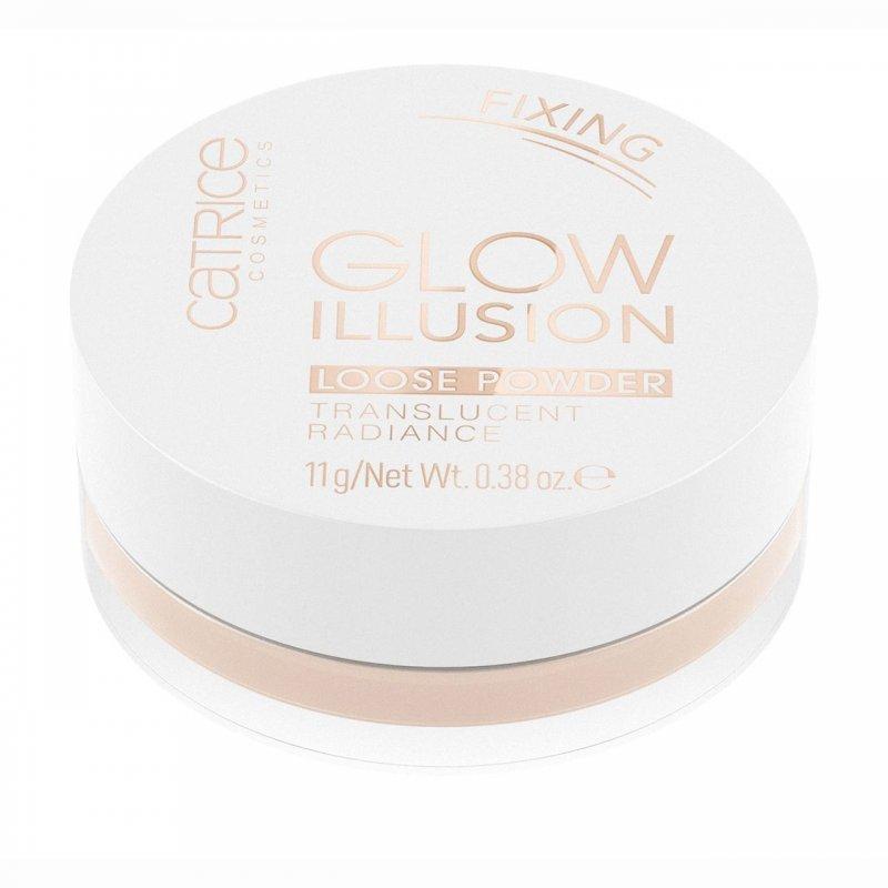 Catrice Glow Illusion Fixing Loose Powder Translucent Radiance - Пудра прахообразна блестяща