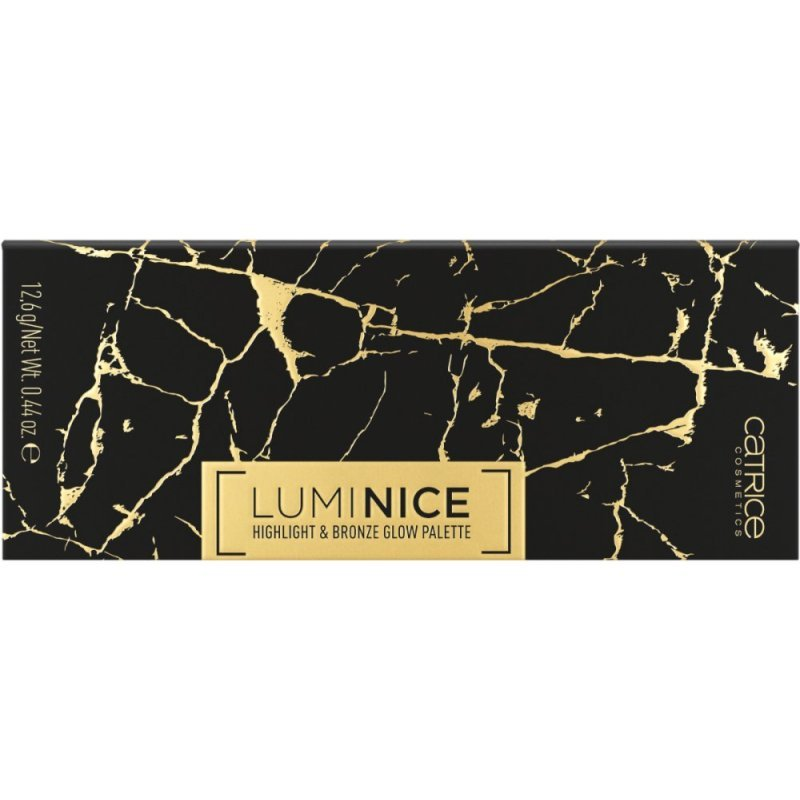 Catrice Luminice Highlight & Bronze Glow Palette 020 - Палитра с хайлайтъри и бронзант за лице