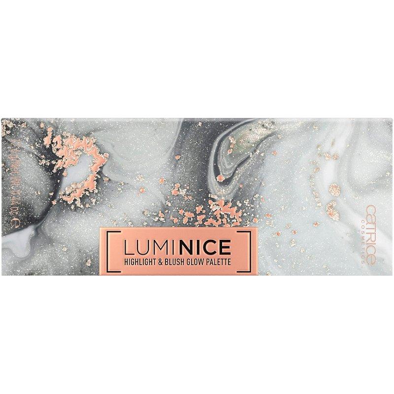 Catrice Luminice Highlight & Blush Glow Palette 010 Rose Vibes - Палитра хайлайтър и руж