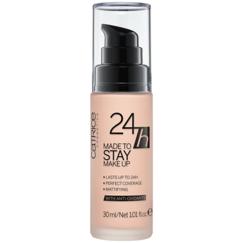 Catrice 24h Made To Stay Make up - Дълготраен фон дьо тен 005 Ivory Beige