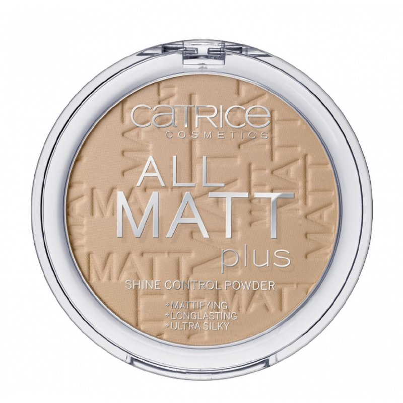 """Catrice All Matt Plus Shine Control Powder - Дълготрайна матираща пудра за лице от серията """"All Matt Plus"""""""