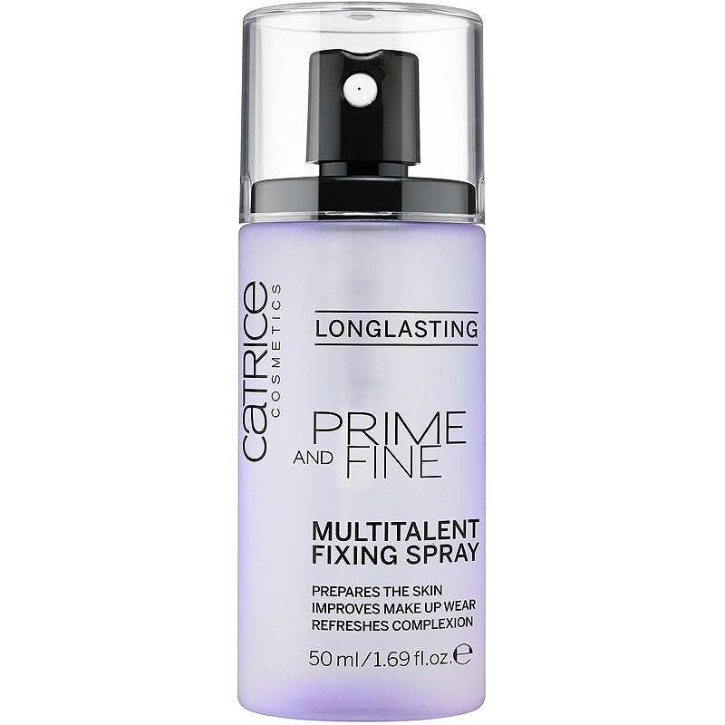 Catrice Prime & Fine Multitalent Fixing Spray - Мултифункционален спрей за грим с фиксиращ ефект