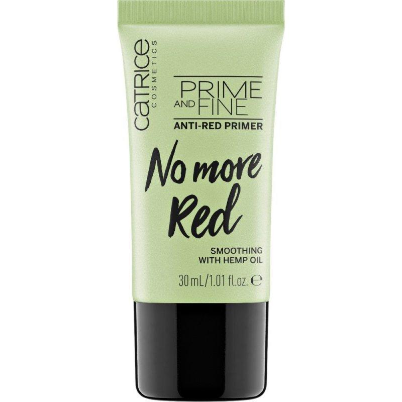 Catrice No More Red Prime And Fine Anti-Red Primer - Основа за грим срещу зачервяване с конопено масло