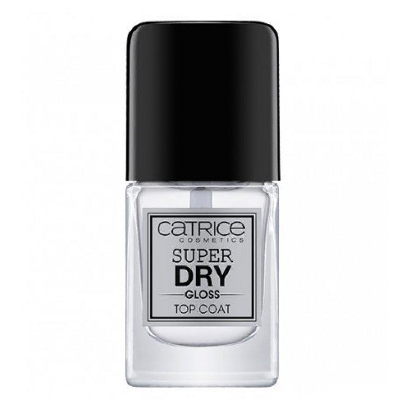 Catrice Super Dry Gloss - Топ лак за нокти с гланцово покритие