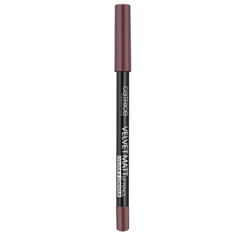 Catrice Velvet Matt Lip Pencil - Кадифено матов молив за устни
