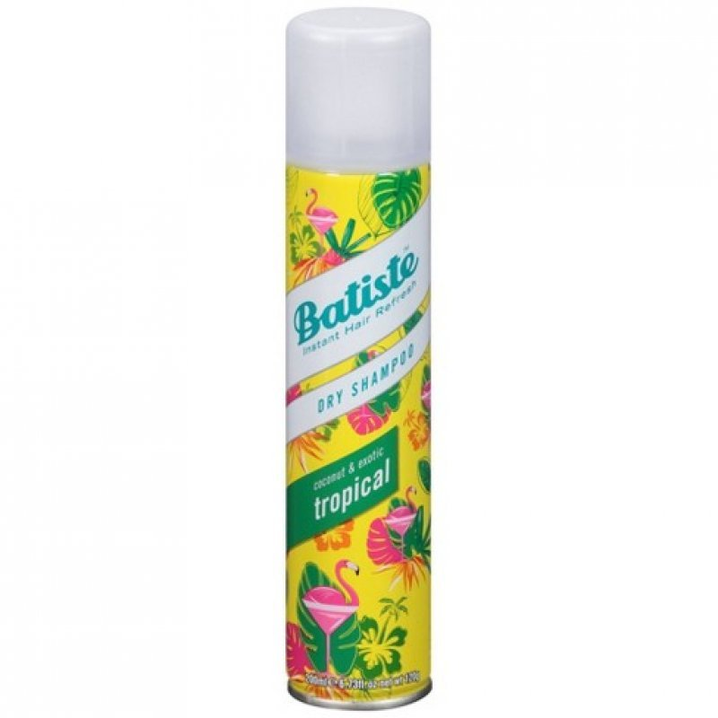 Batiste Tropical Сух шампоан за коса с тропически аромат 200мл