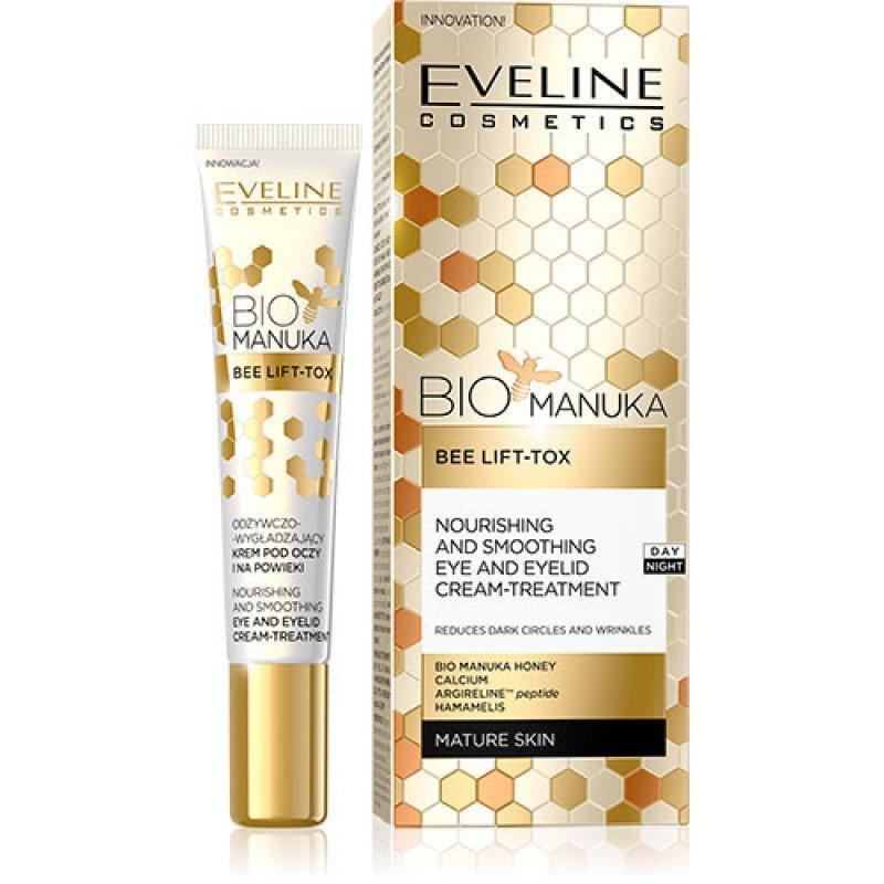 Eveline Bio Manuka Околоочен крем против бръчки с мед от манука 20мл