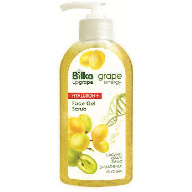 Bilka Grape Energy Хидратиращ гел скраб за лице 200мл