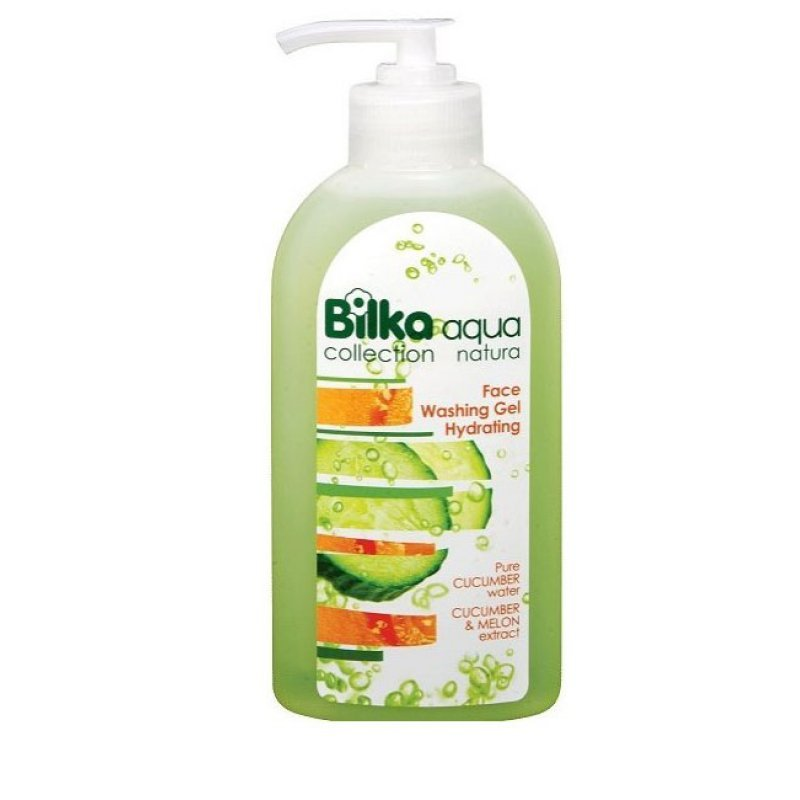 Bilka Aqua Natura Хидратиращ гел за измиване на лице 200мл