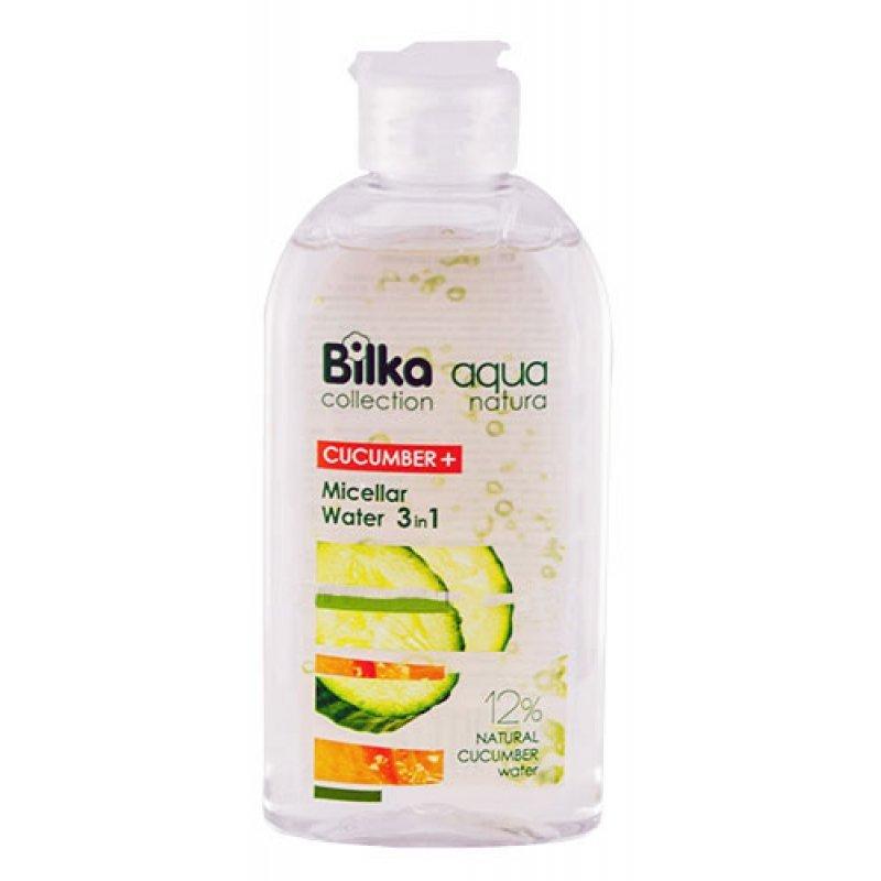 Bilka Aqua Natura Мицеларна вода за лице 3в1 с краставица 200 мл