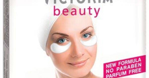 Victoria Beauty Гел лепенки за очи против бръчки 6 бр.