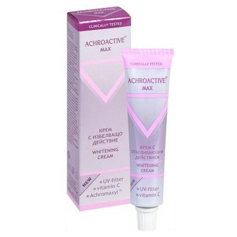 Achroactive Max Избелващ крем за лице с UV филтър 45мл