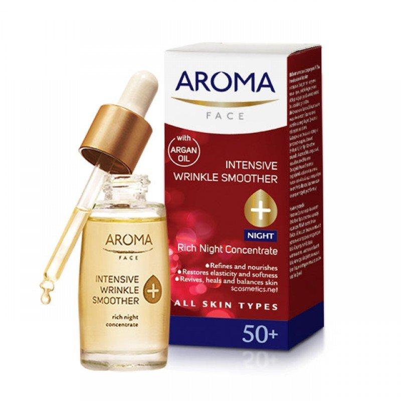 Aroma 50+ нощен концентрат против бръчки 30мл