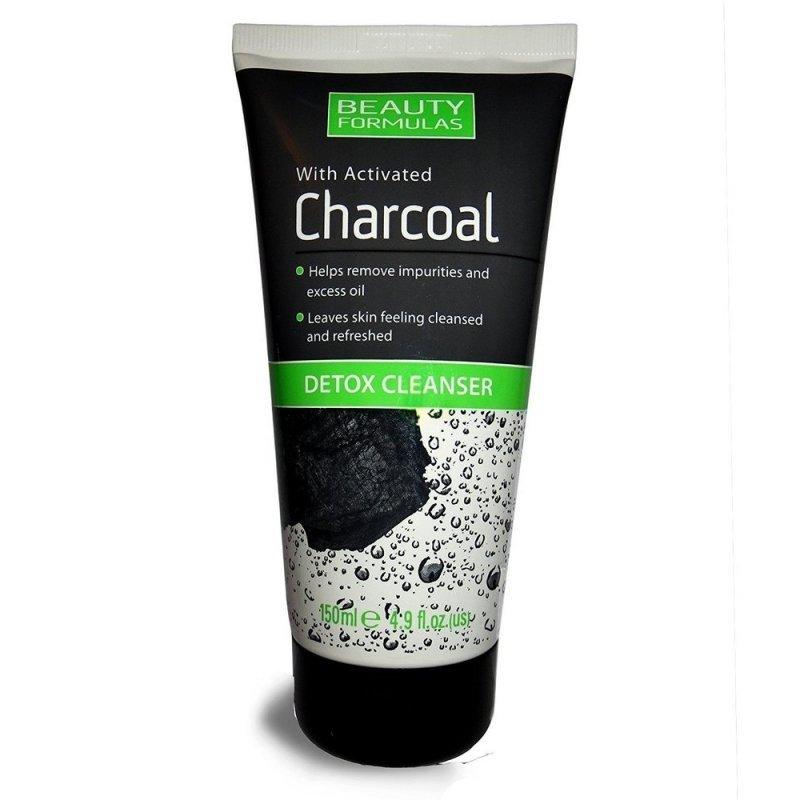 Beauty Formulas Charcoal Детоксикиращ гел за лице с активен въглен 150 мл
