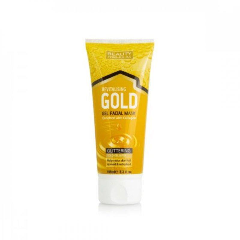 Beauty Formulas Revitalising Gold гел маска за коса 100мл