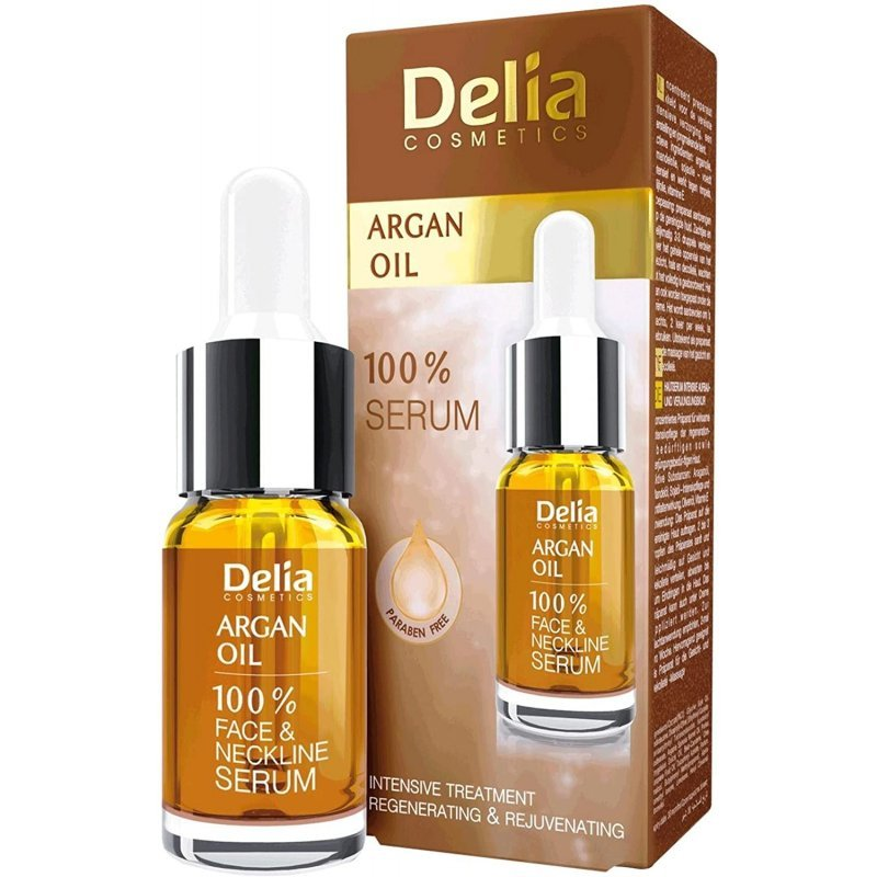 Delia Argan Oil Възстановяващ серум за лице 10мл