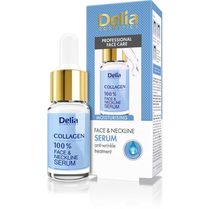 Delia Collagen Серум за лице против бръчки с колаген 10мл