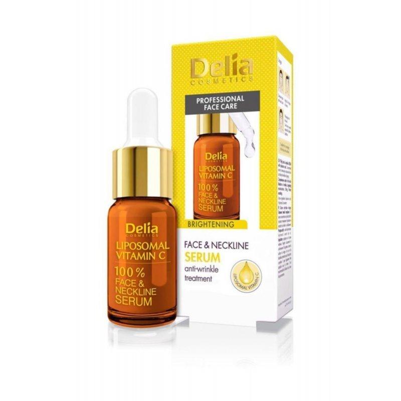 Delia Интензивен серум за лице с витамин С 10мл