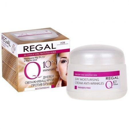 Regal Q10 Дневен крем против бръчки с минерали за суха и..