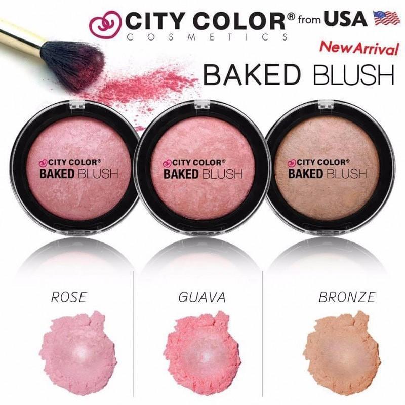 City Color Baked Blush - Руж за лице