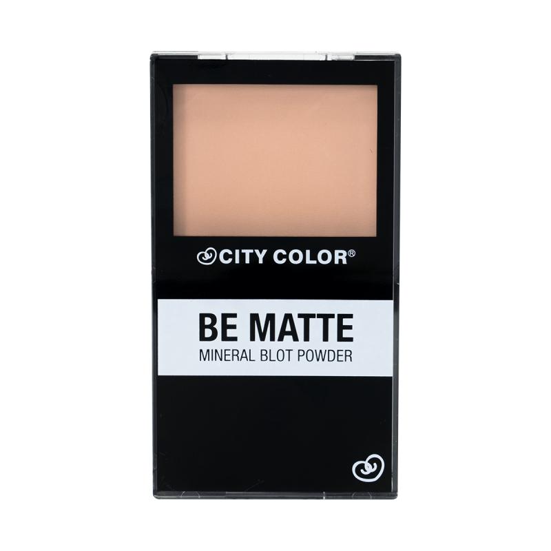 City Color Be Matte Mineral Blot Powder - Минералната пудра за лице с матов ефект