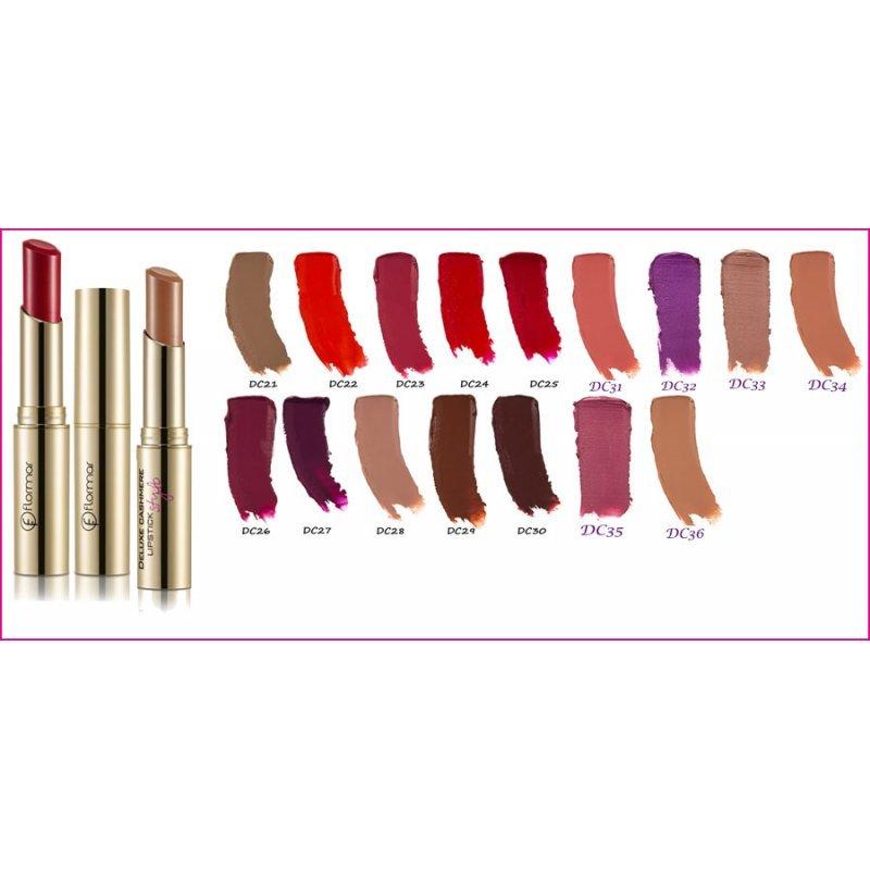 Flormar Deluxe Cashmere Stylo Lipstick - Червило за устни