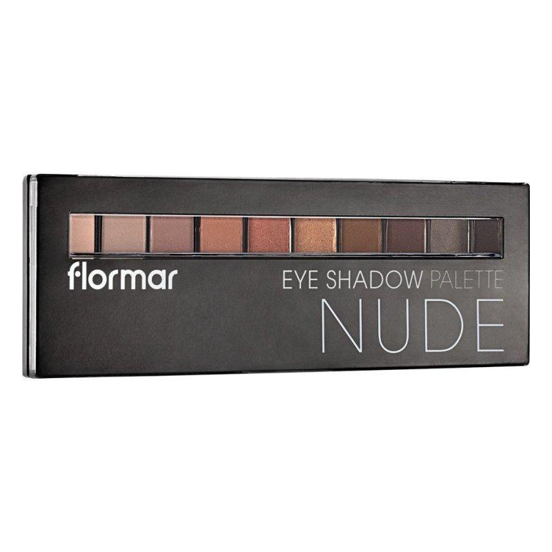Flormar Eye Shadow Palette - Nude - Палитра с 10 цвята сенки за очи