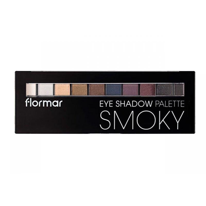 Flormar Eyeshadow Palette 02 Smoky - Палитра сенки за очи