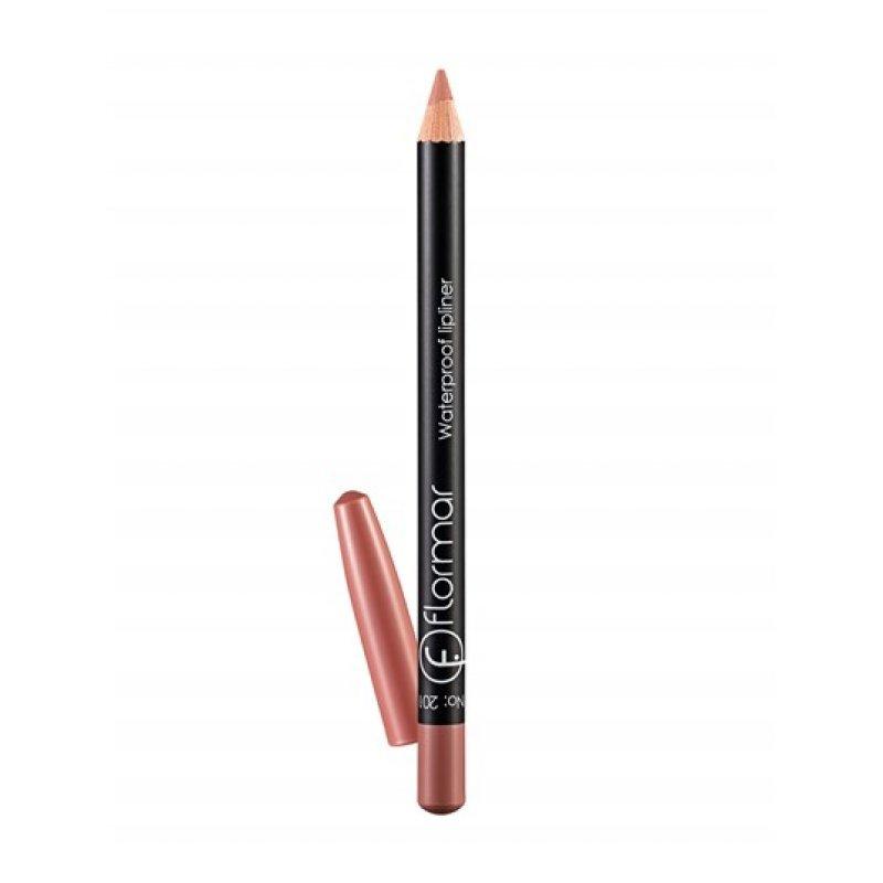 Flormar Waterproof Lipliner - Водоустойчив молив за устни