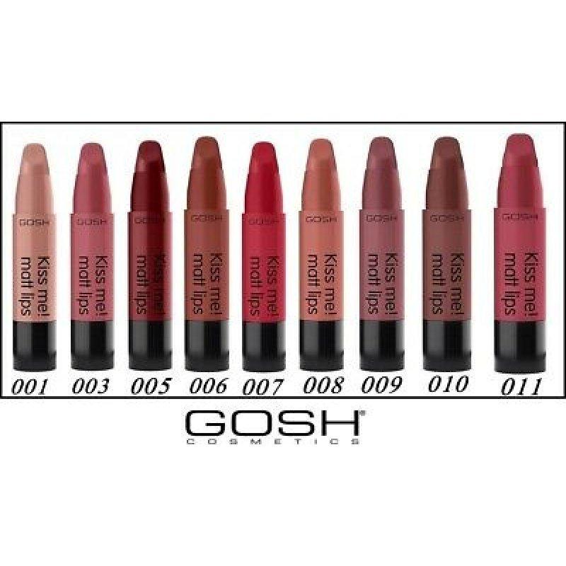 Gosh Kiss Me! Matt Lips - Матово червило за устни