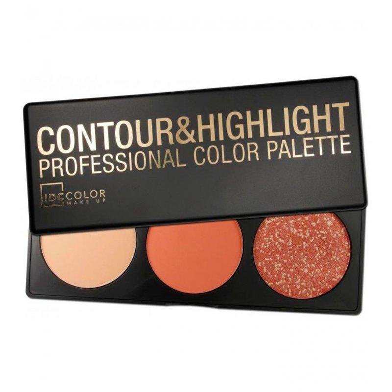 IDC Color Contour & Highlight Professional Color Palette - Палитра за контуриране и подчертаване