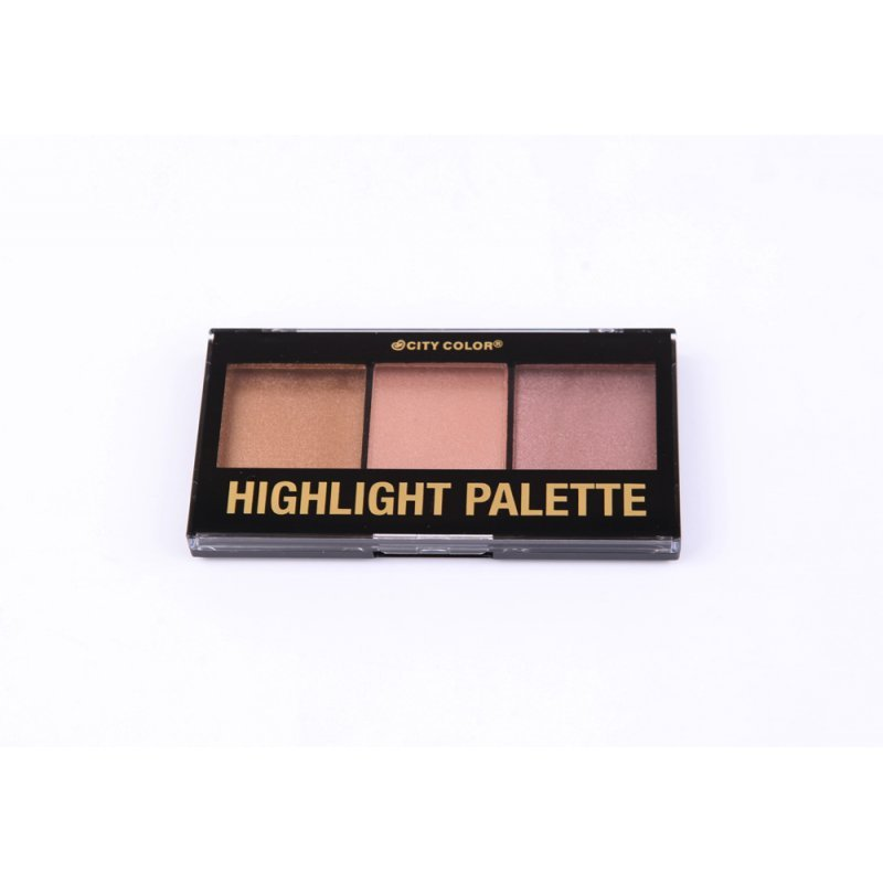 City Color Highlight Palette - Палитра с хайлайтъри