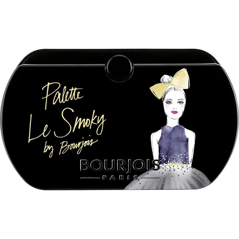 Bourjois La Palette Les Smoky - Палитра с 8 цвята сенки за очи