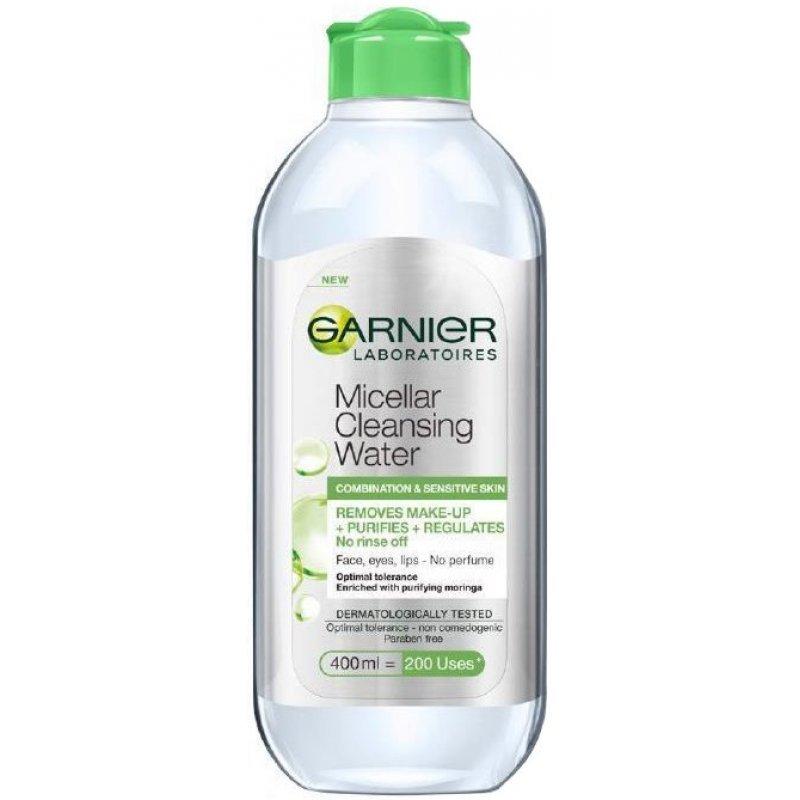 Garnier Micellar Cleansing Water - Мицеларна вода за смесена и чувствителна кожа 400мл