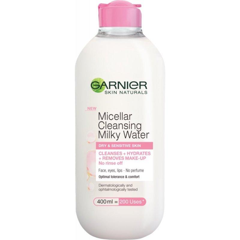 Garnier Micellar Cleansing Milky Water - Почистваща мицеларна млечна вода 400мл