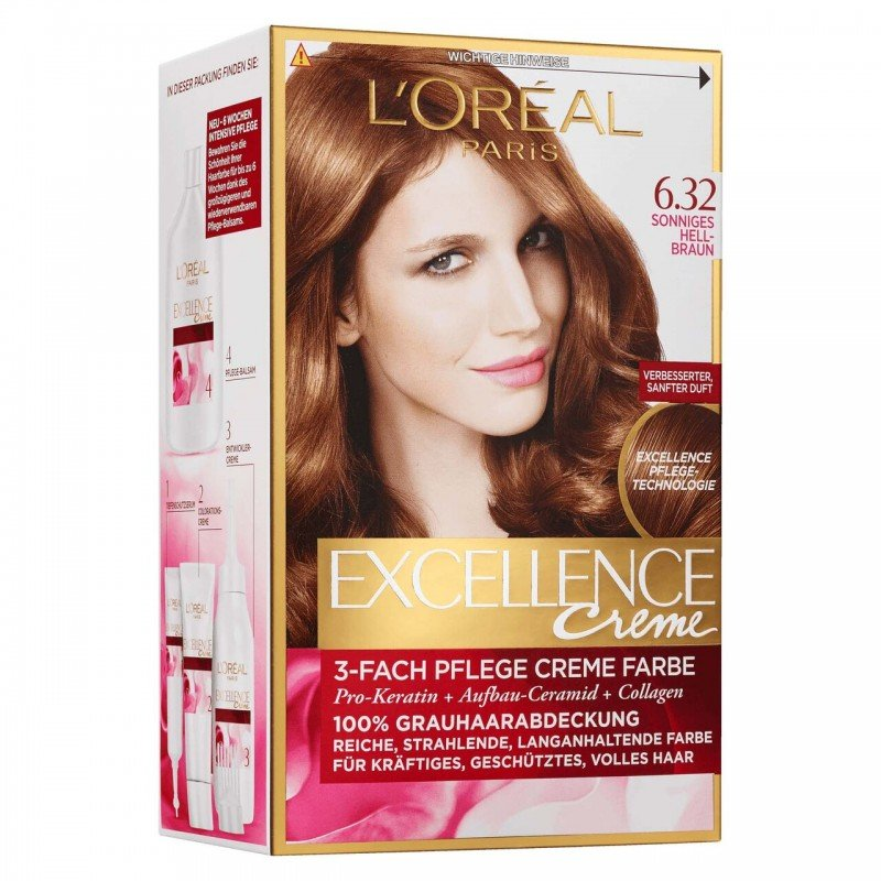 Loreal Excellence Creme боя за коса
