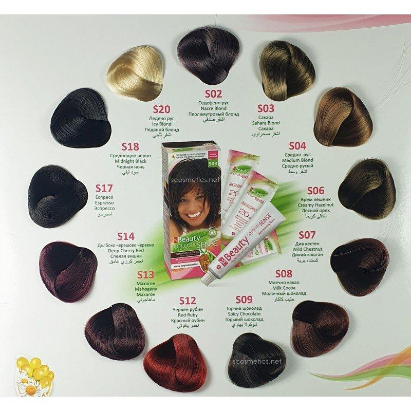 MM Beauty Colour Sense Боя за коса без амоняк